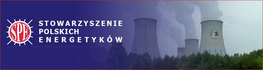 Baner Stowarzyszenia Polskich Energetyków kominy